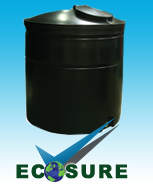 Ideal for Domestic Rainwater Harvesting
