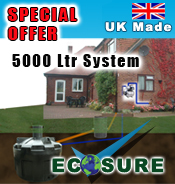 Ecosure Rainwater Harvesting SuperComplete 5000