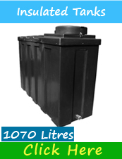 1070 Litre Insulated Water Tank